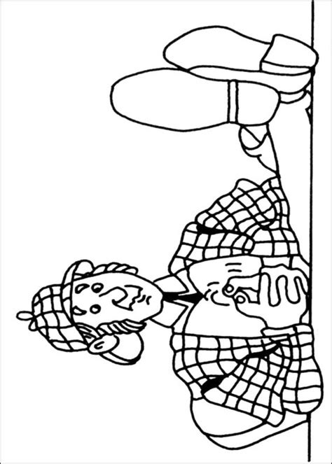 Coloring pages: Sherlock Holmes, printable for kids