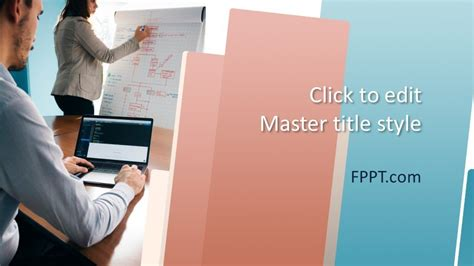 Free Strategy Consultant PowerPoint Template - Free