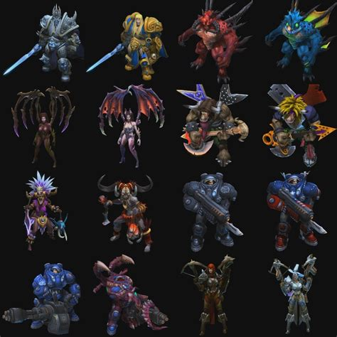 Leaked Heroes of the Storm Alpha Screens Show Heroes