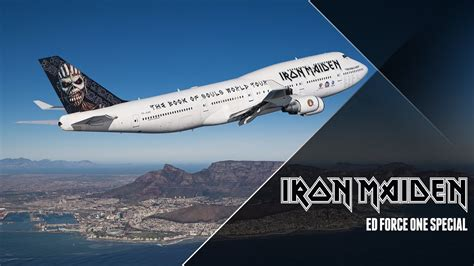 Iron Maiden - Ed Force One Special - YouTube